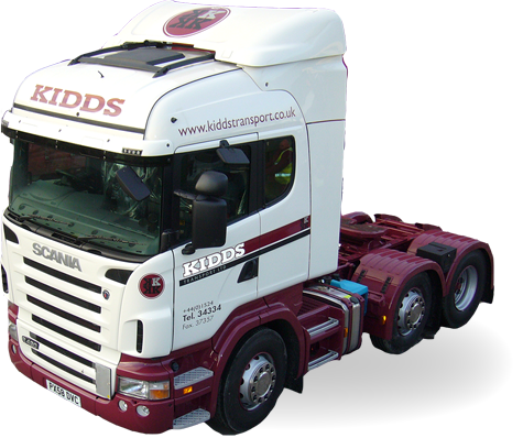 Kidds Transport European deliveries